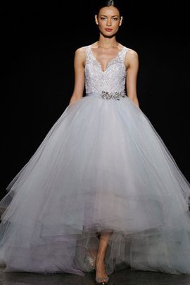 Informal & Casual High Low Tulle Romantic Wedding Dress