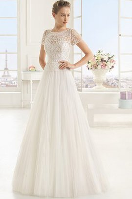 Appliques Beach Pleated Simple Vintage Wedding Dress