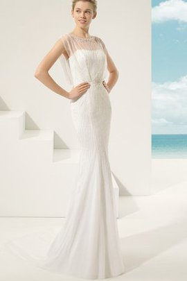 Simple Sexy Chic & Modern Rectangle Long Wedding Dress