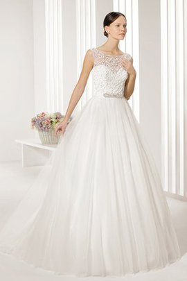 Pleated Misses Sleeveless Romantic Long Wedding Dress