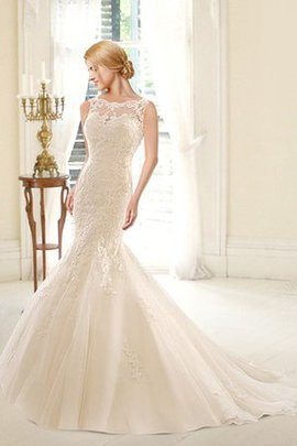 Sleeveless Romantic Mermaid Elegant & Luxurious Sexy Wedding Dress