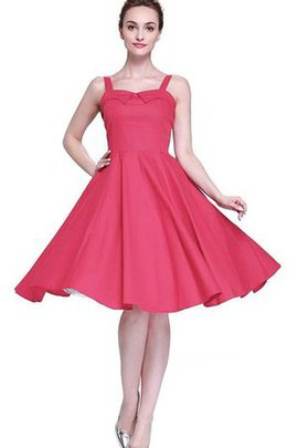 Spaghetti Straps A-Line Chiffon Floor Length Empire Waist Bridesmaid Dress
