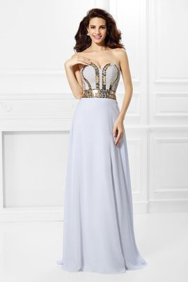 Zipper Up Floor Length Long Empire Pleated Evening Dress