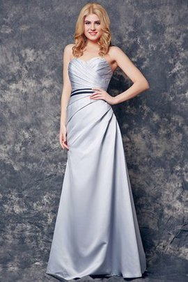 Backless Simple Long Chic & Modern Bridesmaid Dress