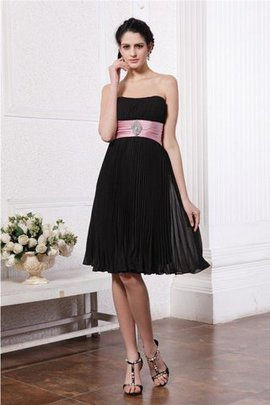 Sashes Zipper Up Sleeveless Princess Bridesmaid Dress