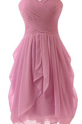 Sleeveless Ruffles Sweetheart A-Line Lace-up Party Dress