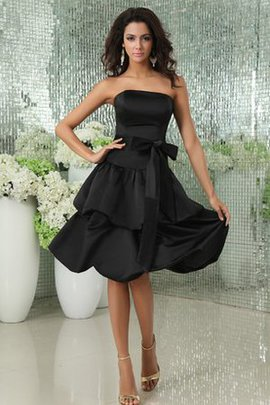 Tiered Strapless Beautiful Short Cocktail Dress