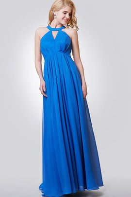 Sleeveless A-Line Chic & Modern Simple Bridesmaid Dress