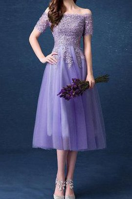 Zipper Up Off The Shoulder Short Sleeves Elegant & Luxurious Long Bridesmaid Dress