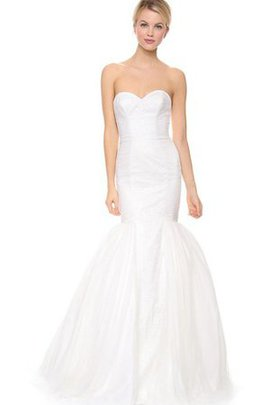 Sweetheart Long Taffeta Sleeveless Natural Waist Wedding Dress