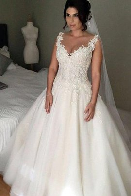 Hourglass Vintage Appliques Romantic Long Special Ball Gown Wedding Dress