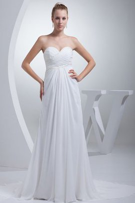Floor Length Simple Sexy A-Line Long Wedding Dress