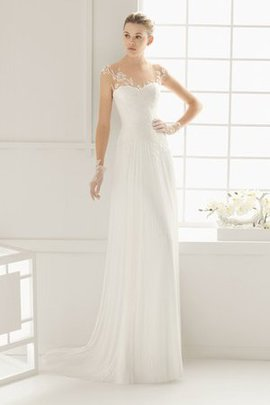 Simple Sweetheart Misses Long No Waist Wedding Dress
