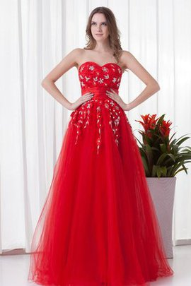 Long Sleeveless Charming Sweetheart Quinceanera Dress