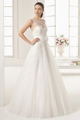 Natural Waist Sleeveless Hall Floor Length Chic & Modern Wedding Dress