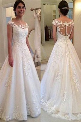 Stunning Floor Length Long Demure Hourglass Misses Princess Wedding Dress