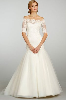 Vintage Court Train Sleeveless Zipper Up Elegant & Luxurious Wedding Dress