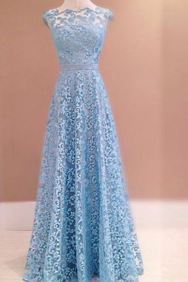 Sleeveless A-Line Floor Length Vintage Evening Dress