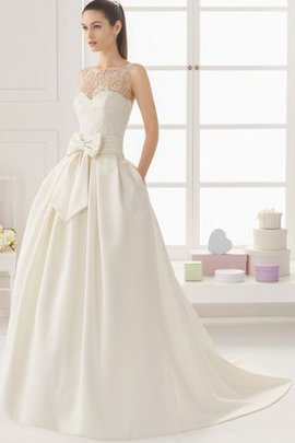 Sleeveless Sweep Train Elegant & Luxurious Exclusive Chic & Modern Wedding Dress