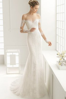 Elegant & Luxurious Backless Floor Length Sheath Wedding Dress