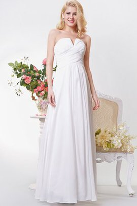 Ruched Chiffon Elegant & Luxurious Romantic Strapless Bridesmaid Dress