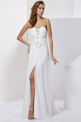 A-Line Sleeveless Sweetheart Natural Waist Evening Dress