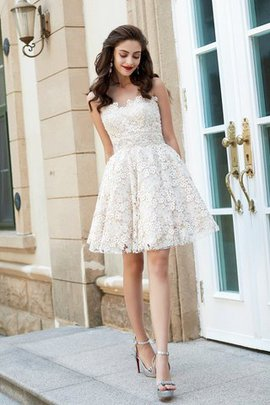 Sweetheart A-Line Short Sleeveless Prom Dress