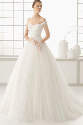 Outdoor Off The Shoulder Pleated Sleeveless Bow Wedding Dress