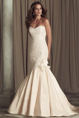 Thin Sweep Train Hall No Waist Rectangle Wedding Dress