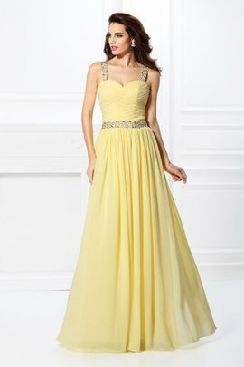 Sleeveless Zipper Up Princess Sweetheart Natural Waist Prom Dress