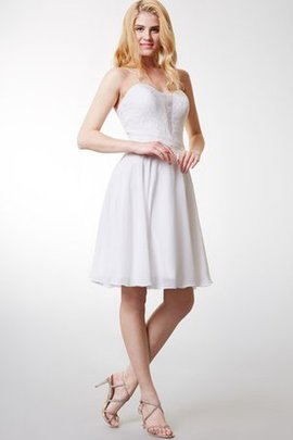 Pleated A-Line Chiffon Sleeveless Romantic Party Dress