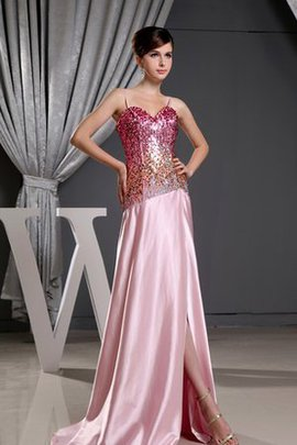 Beading Suitable Sleeveless Sequined Evening Dress