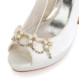 Eternal Platform Height 0.59 Inch Platform Heels Bridal Shoe - 6