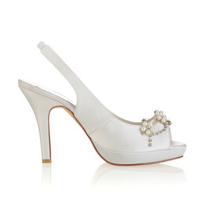 Eternal Platform Height 0.59 Inch Platform Heels Bridal Shoe - 4