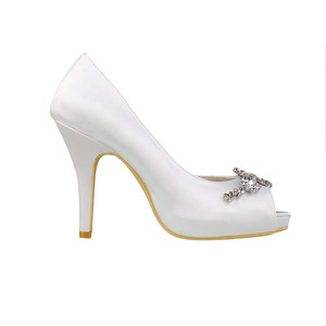 Romantic Heels Platform Actual Heel Height 3.94 Inch Wedding Shoe - 5