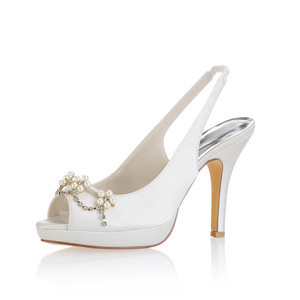 Eternal Platform Height 0.59 Inch Platform Heels Bridal Shoe - 1