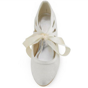 Elegant Actual Heel Height 1.97 Inch Summer Wedding Shoe - 5