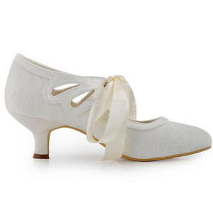Elegant Actual Heel Height 1.97 Inch Summer Wedding Shoe - 4