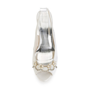 Eternal Platform Height 0.59 Inch Platform Heels Bridal Shoe - 5