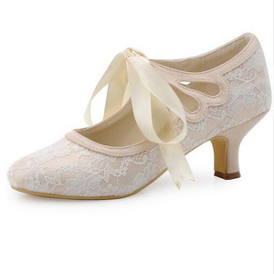 Elegant Actual Heel Height 1.97 Inch Summer Wedding Shoe - 1