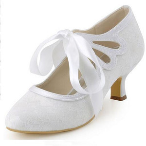 Elegant Actual Heel Height 1.97 Inch Summer Wedding Shoe - 8