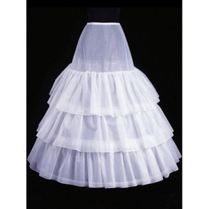Comfortable Ankle-length Tiered A Line | Princess Crinolines - 1