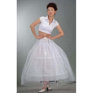 Simple Comfortable Ankle Length A Line Crinolines - 1