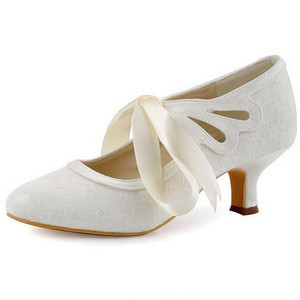 Elegant Actual Heel Height 1.97 Inch Summer Wedding Shoe - 7