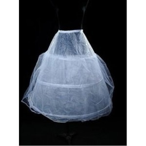Simple Cute Tea-Length A Line | Princess Crinolines - 1