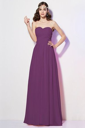 Pleated Zipper Up Empire Waist A-Line Bridesmaid Dress - 8