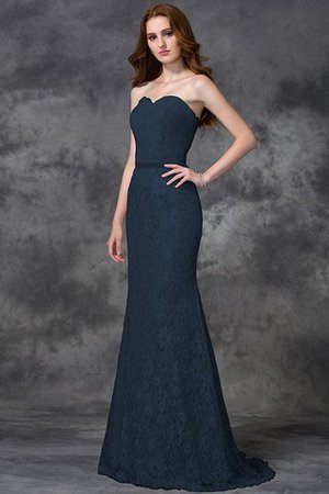 Appliques Zipper Up Sleeveless Floor Length Natural Waist Bridesmaid Dress - 10