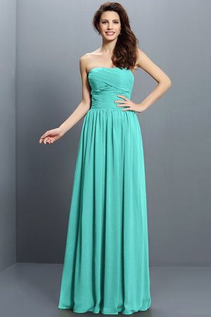 Strapless A-Line Pleated Zipper Up Bridesmaid Dress - 15