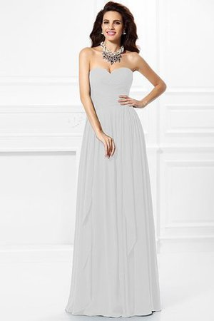 A-Line Zipper Up Long Floor Length Bridesmaid Dress - 16