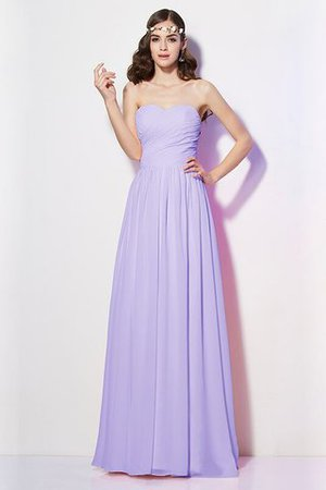 Pleated Zipper Up Empire Waist A-Line Bridesmaid Dress - 17